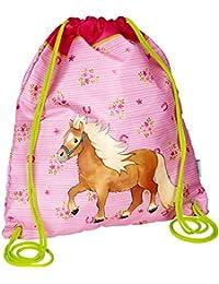 Die Spiegelburg 14524 Bolsa de Cuerdas Bolsa de Gimnasio Rosa Mini Pequeño Pony 31x36cm