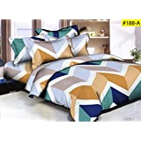 Comforter - Double Bed Luxurious Comforter Set - 4 Pc Set (1 Comforter + 1 Double Bedsheet + 2 Pillow Cover)