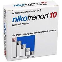 Preisvergleich für NIKOFRENON 10 transdermale Pflaster 14 St Pflaster transdermal