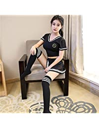 Sex Toys Sexy Lingerie Sexy temptation costume of clothing of doll clothes cheerleading student uniform, LValentine.