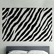 Vinilo adhesivo decorativo, diseño de tigre (SD21), blanco, L 60 cm x 90 cm