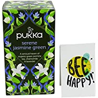 PUKKA- Thè Verde al Gelsomino con Camomilla e Lime - 20 Filtri