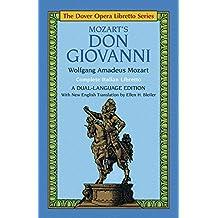 Mozart's Don Giovanni (Opera Libretto Series) (Dover Opera Libretto Series)