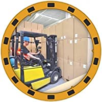 Dancop 0004359 EUVEX Espejo redondo industrial, PMMA, 80cm diámetro