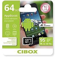 Cibox AppBoost Micro-SD-Karte 64GB Schwarz