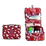 Pixnor Neceser Bolsa del Organizador Impermeable colgante lavado bolso almacenamiento de maquillaje cosméticos aseo caso bolsa de viajes organizador de bolsa