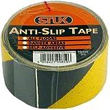 Stuk as503yb–Cinta antideslizante (50mm x 3m, color amarillo/negro