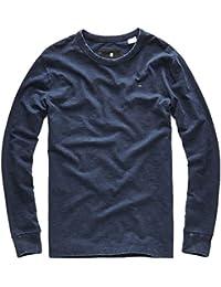 G-Star Hombres Ropa superior / Camiseta de manga larga Kantano Jeffer Slub Jersey