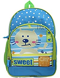 Shopaholic Attractive Sweet Cat Featured School Bag For Kids(Small Bag)