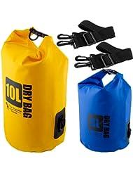 The Friendly Swede Pack de 2 Bolsas Estancas Para Actividades al Aire Libre y Deportes Acuáticos - GARANTÍA DE POR VIDA
