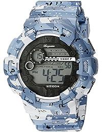 Burgmeister Herren Digital Alarm-Chronograph Halifax, BM803-023