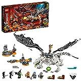 LEGO® NINJAGO® Skull Sorcerer's Draak 71721 NINJAGO drakenset met speelgoedfiguren van strijders (1.016 onderdelen)