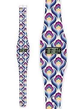 RETRO Pappwatch / Armbanduhr aus reißfestem und wasserabweisendem TYVEK®