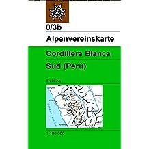Cordillera Blanca Süd (Perú): Trekking (Alpenvereinskarten)