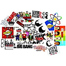 Elton 3M Vinyl Sticker Pack [20-Pcs], Lovely 3M Vinyl Big Bang Stickers For PS4 Laptop, Cars, Motorcycle,. X Box One . Guitar Bicycle, Skateboard, Luggage - Waterproof Random Sticker Pack