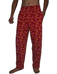 NCAA Mens Iowa State Cyclones Cotton Sleepwear / Pajama Pants