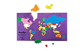 Imagimake Mapology World Educational Toy And Learning Aid Jigsaw Puzzle