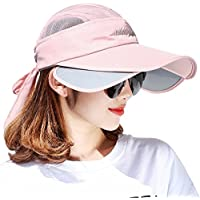 ZHANWEI Sombreros protección Solar Verano Gorros para El Sol Sombreros  Viseras Gorras Gorro De Pescador Pare f6a0eae059a