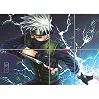GIANT Naruto Hatake Kakashi Anime Manga Lightning New Art Print Poster OZ354 by