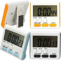 Bluelover Magnetico LCD digitale cucina Timer Allarme Count Up Down