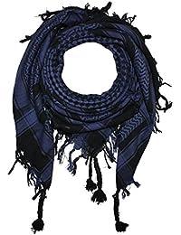 Superfreak® Palituch mit Karo-Muster klein°PLO Schal kariert°100x100 cm°Pali Palästinenser Arafat Tuch°100% Baumwolle – alle Farben!!!