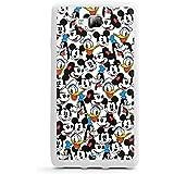 LG Optimus L9 II D605 Hülle Silikon Case Schutz Cover Disney Mickey Mouse Goofy Donald Duck Minnie Mouse Fanartikel Geschenke