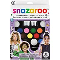Snazaroo 1180100 Palette de Maquillage de Fête, Multicolore