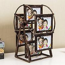 weiwei Portaretrato creativo noria, Vintage 5 pulgadas montada marco de la tabla de abs-