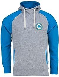 Sweat capuche OM - Collection officielle Olympique de Marseille - Taille adulte homme