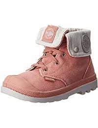 Palladium BAGGY ZIPPER - Zapatos primeros pasos de lona para niña