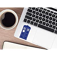 Tardis Doctor Who Sticker Decal Whovian Telephone Booth box