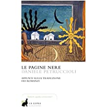 Le pagine nere: Appunti sulla traduzione dei romanzi