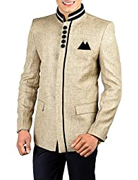 Wintage Men's Rayon Bandhgala Festive Nehru Mandarin Blazer - Available in 11 Colors
