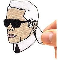 Karl Lagerfeld Aufnäher Patch