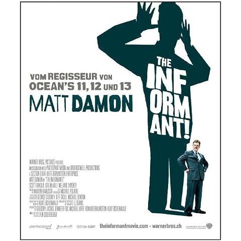 The Informant Swiss B Movie! Poster, 69 x 102 cm Matt Damon Melaine Lynskey Frank Welker Clancy Scott Bakula Patton Oswalt, colore: marrone