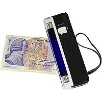 Scanner all'UV per banconote fasulle a batteria