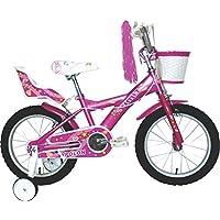 Umit J1651 Bicicleta Infantil, Niñas, Rosa, ...