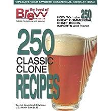 """Libro """"250 Classic Clone Recipes"""