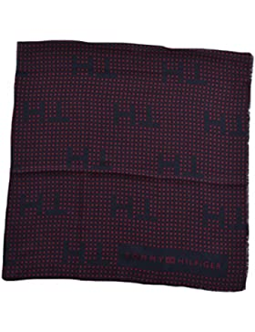 Tommy Hilfiger Tuch TH Stars Scarf AW0AW03391 904 Midnight / Red