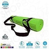 SBZ – SHOPBOOZ Soft Comfort Fitness Exercise Anti Skid, Non Slip Yoga Thick Mat with Cover for Men & Women