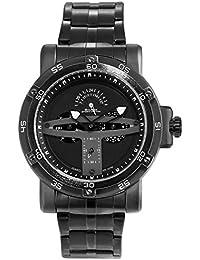 SHARK hombre deportivos Cuarzo relojes de pulseras Acero inoxidable Día Fecha 24 horas Monitor Segunda mano SH426