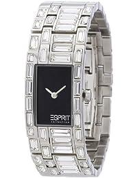 Esprit Collection - EL900262003 - H-Iocony - Montre Femme - Quartz Analogique - Cadran Noir - Bracelet Acier Argent