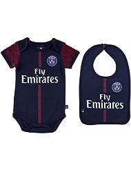 Body + bavoir Maillot domicile PSG - Collection officielle PARIS SAINT GERMAIN - Bébé garçon