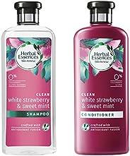 Herbal Essences Bio: Renew White Strawberry And Sweet Mint Shampoo, 400 Ml With Herbal Essences Bio: Renew Whi