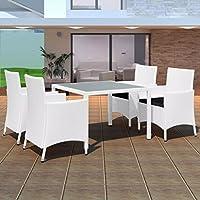 suchergebnis auf f r gartenm bel polyrattan weiss k che haushalt wohnen. Black Bedroom Furniture Sets. Home Design Ideas
