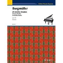 Etudes (25) Op.100 - Piano.