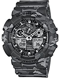 Casio Reloj de cuarzo G-Shock Grey camouflage