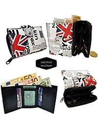 Charmoni - Charmoni® Portefeuille Femme Monnaie Zippée Cartes Bancaires Carte Fidélité Neuf Esther
