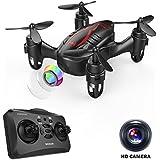 DROCON Drone Mini Pocket GD60 Helicoptère télécommandé caméra HD anti-vibration 720P Mode sans Tête 3D FLIPS ET ROLLS Convient pour les débutants