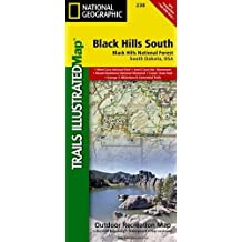 Black Hills (National Geographic Trails Illustrated Map, Band 238)
